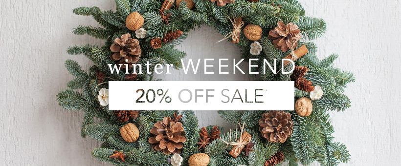 20% Off Nearly Everything*