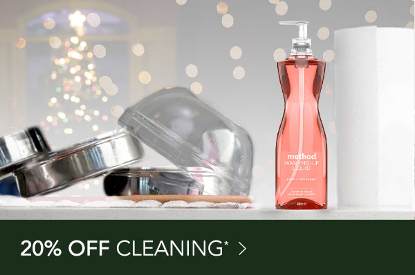 20% off Cleaning*