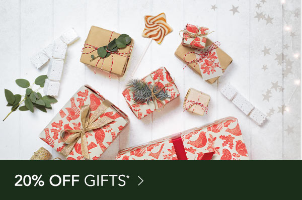 20% off Gifts*
