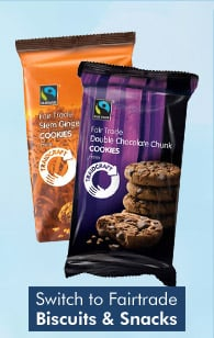 Switch to Fairtrade Biscuits & Snacks