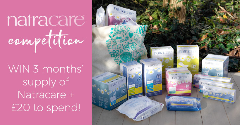 Win Natracare Goodies