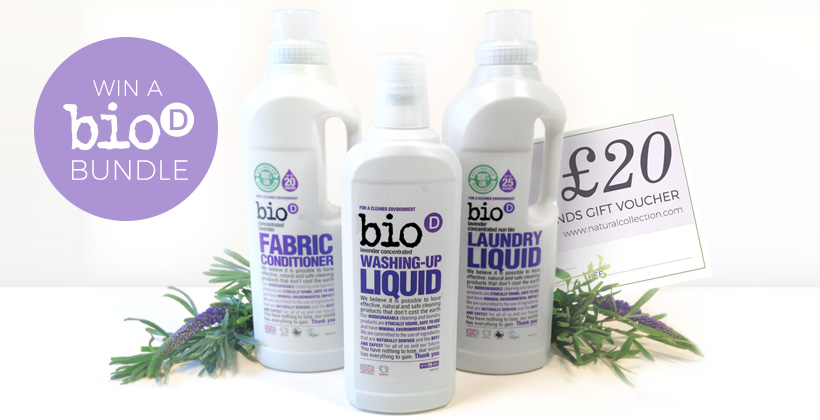 Win a Bio D Lavender products
