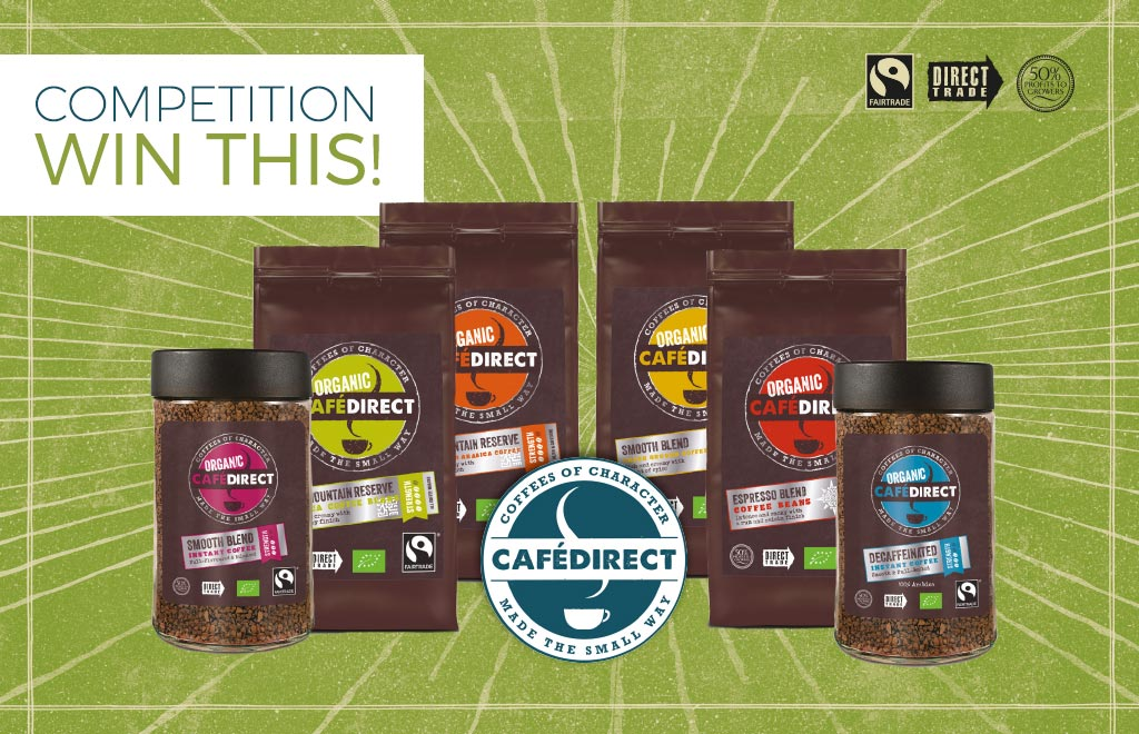 Win Cafedirect coffee