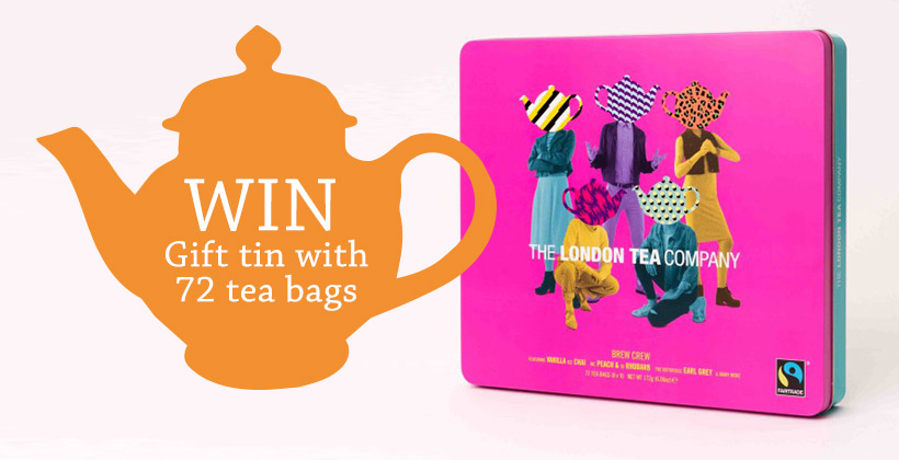 Win a London Tea Company Gift Tin