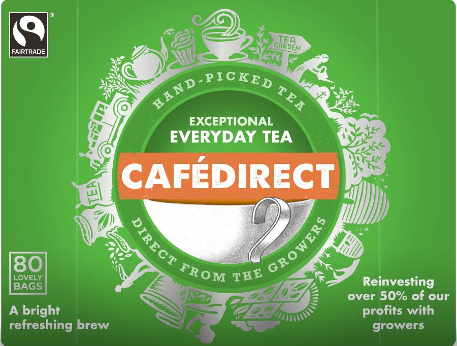Cafédirect Everyday Tea - 80 Teabags