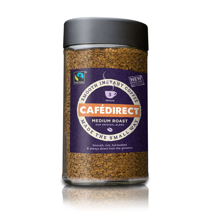Fair Trade Coffee ~ Cafédirect cafedirect fairtrade classic instant coffee