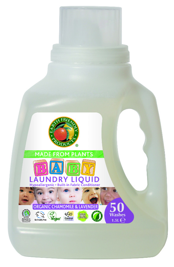 Earth Friendly Baby Laundry Soap  1.5L