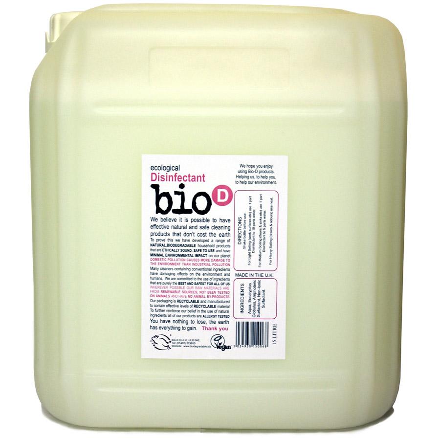 Bio D Home & Garden Sanitiser - 15L
