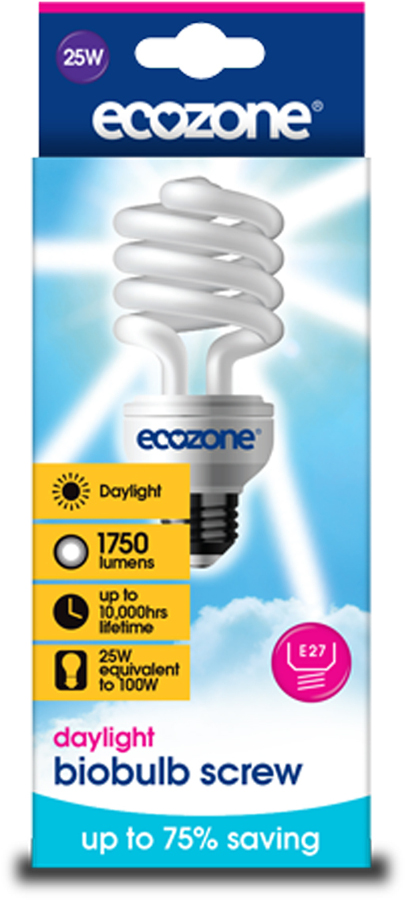 Biobulb - 25 Watt Screw Cap Daylight (100W equivalent)