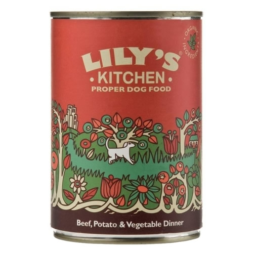 Lily's Kitchen Cottage Pie Beef & Vegetable Dinner For Dogs - 400g
