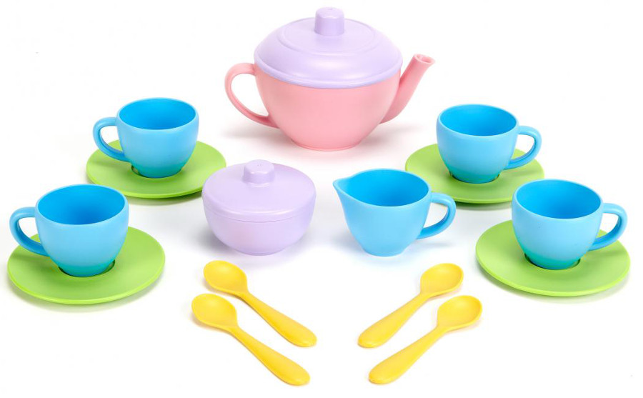 Green Toys Recycled Tea Set at Natural Collection