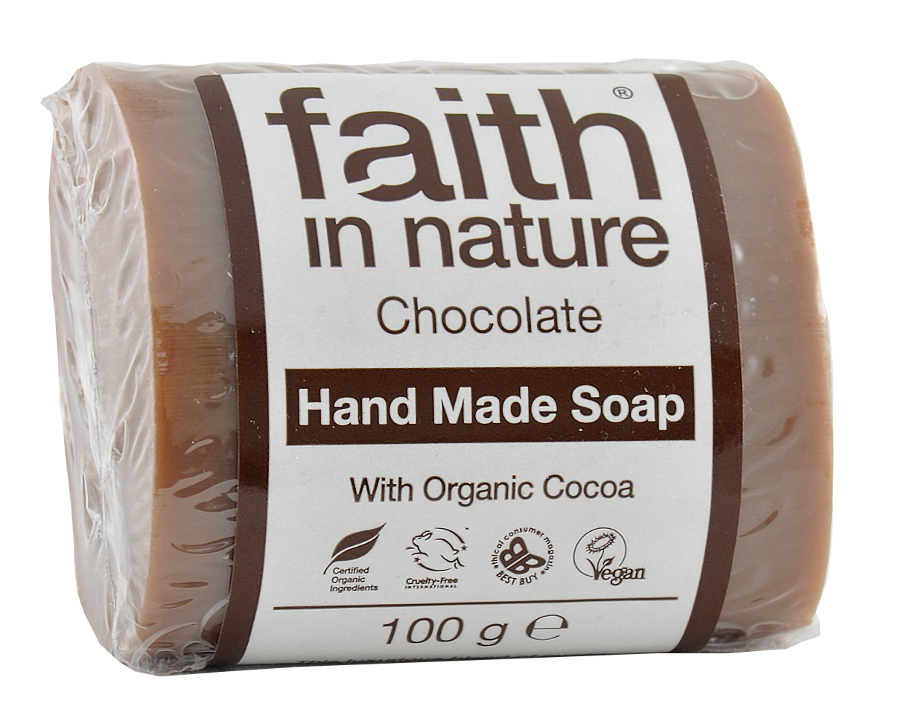 Faith in Nature Chocolate Soap - 100g