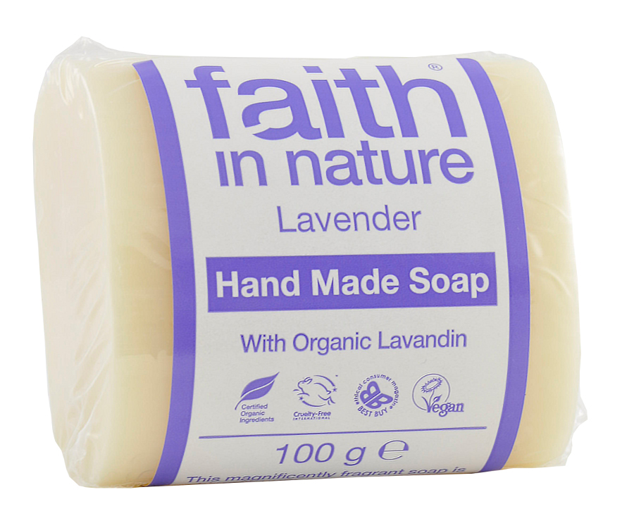 Faith in Nature Lavender Soap - 100g