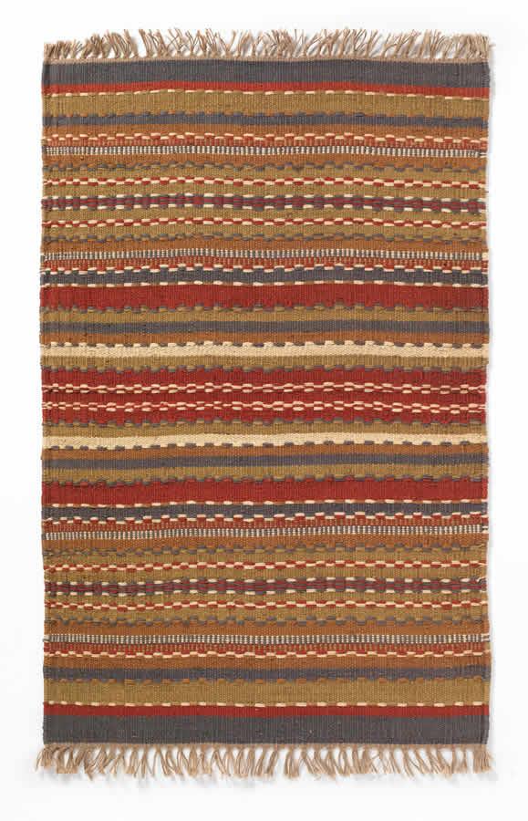 Garden & Leisure Sindhi Stripe Indian Rug - Medium