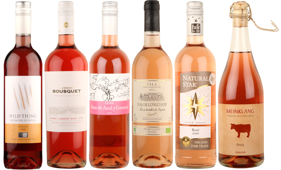 Box of 6 Organic Rosé Wines