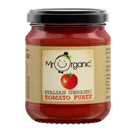 Italian Tomato Puree 200g Mr Organic Natural Collection