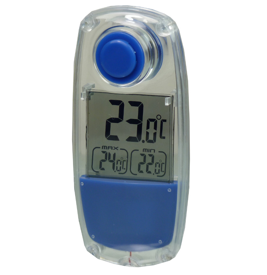 PowerPlus Parrot Solar Powered Thermometer.