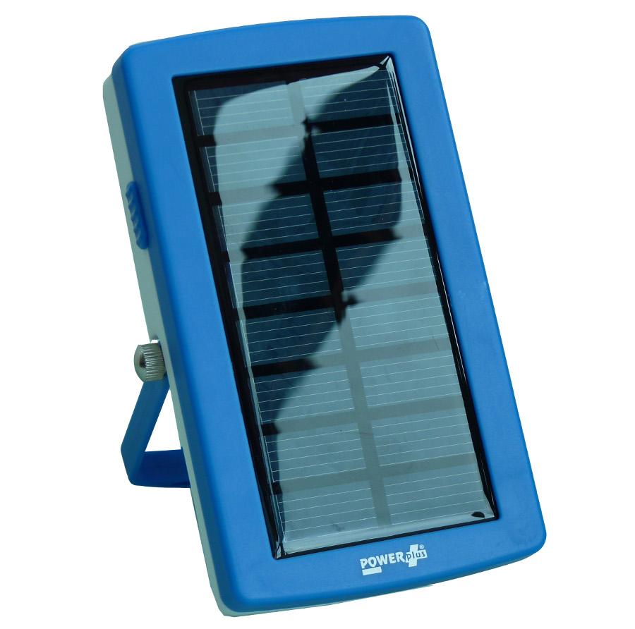 PowerPlus Lizard USB Solar Powerbank & Battery Charger.