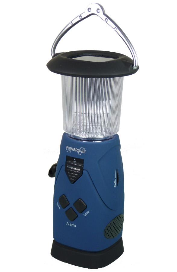 PowerPlus Falcon 5 in 1 LED Lantern  Radio  Charger  Powerbank & Alarm.