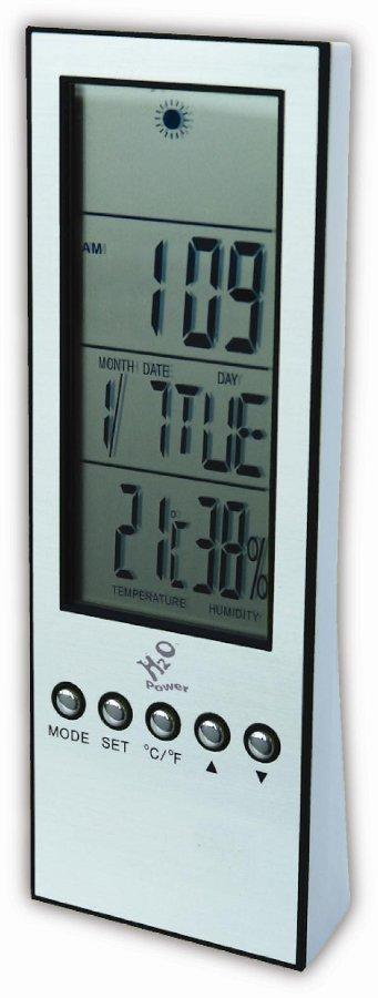 H2O Weather Station Clock.