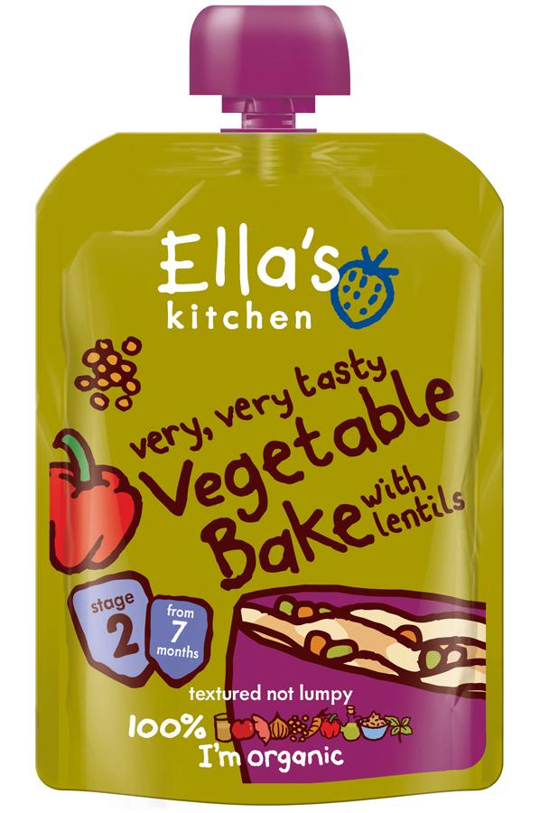 Ella's Kitchen Vegetable Bake 130g