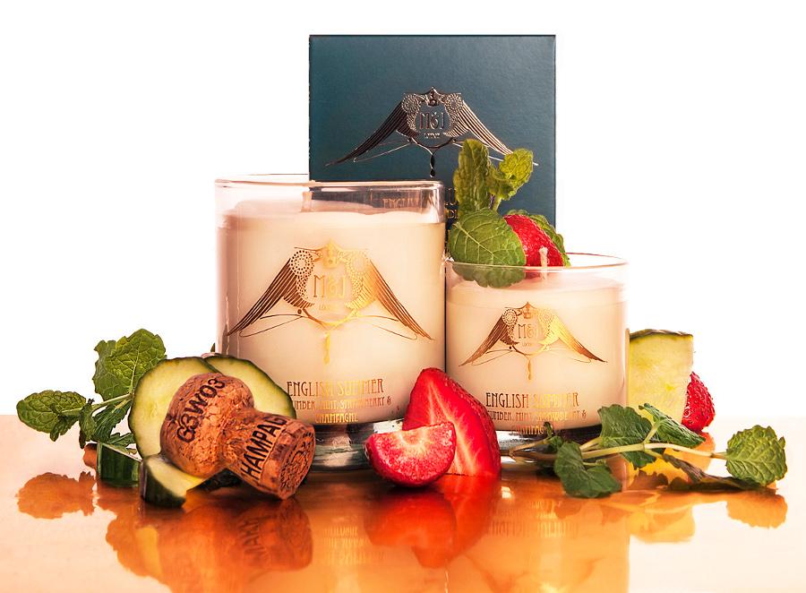 Image of M&J London English Summer Soy Candle - Large