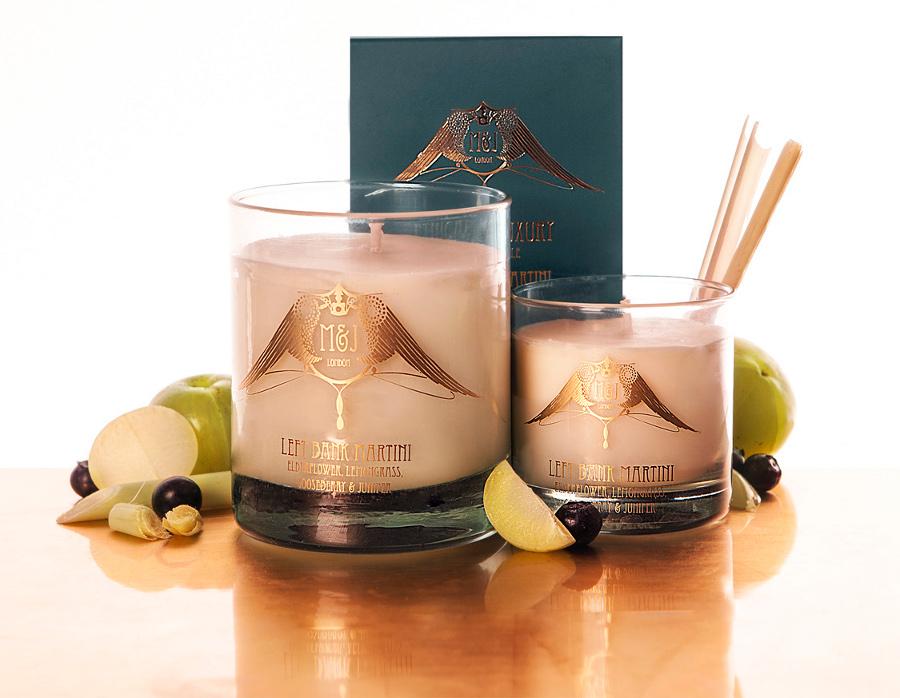 Image of M&J London Left Bank Martini Soy Candle - Large
