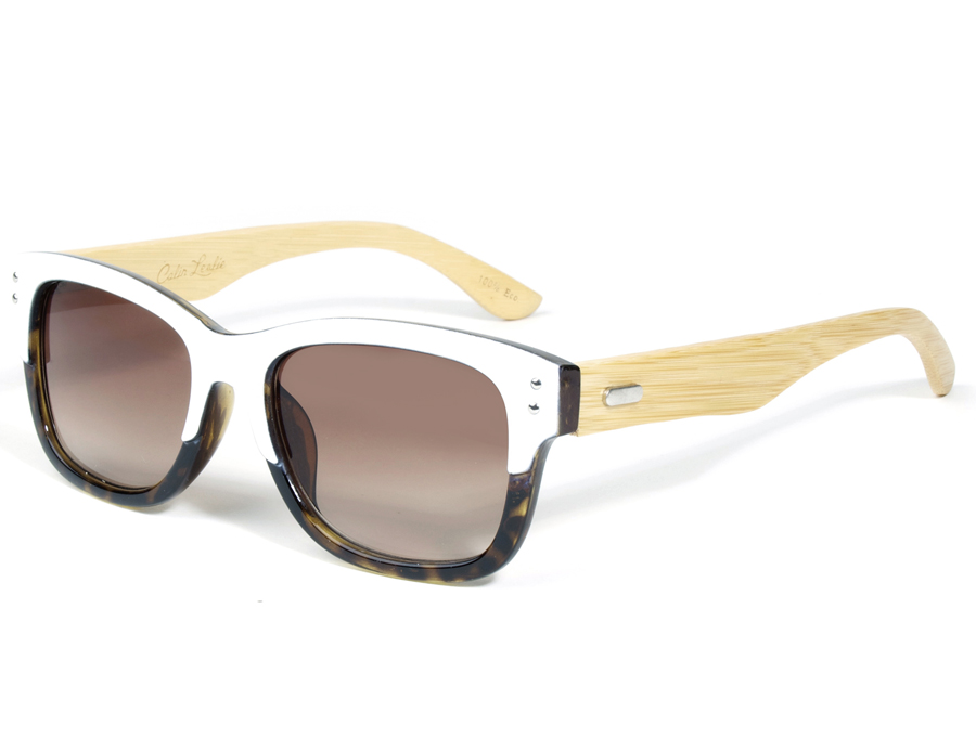 Tortoise Eco-Friendly Wooden Sunglasses