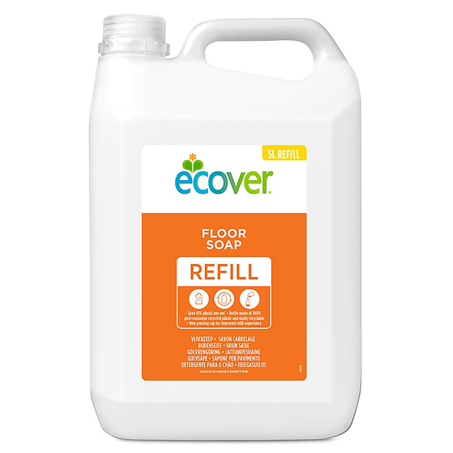 Ecover Floor Cleaner Refill - 5L