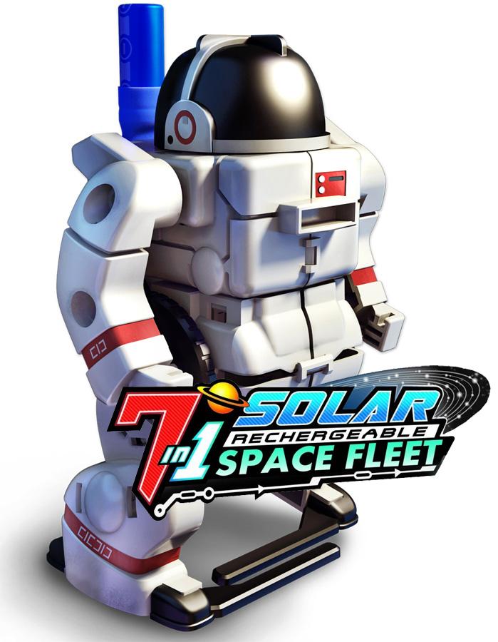 7-in-1 Solar Transforming Space Fleet