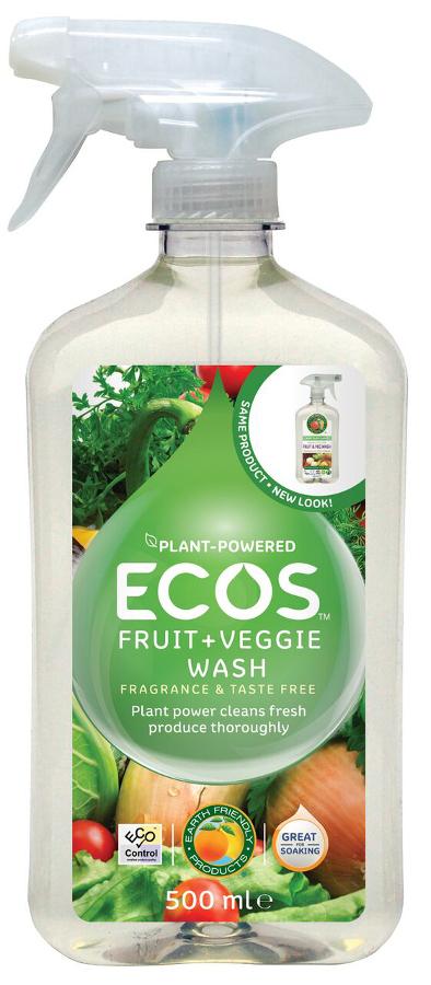 ECOS Fruit & Vegetable Wash - 500ml