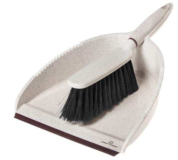 Greener Cleaner Dustpan & Brush - Cream