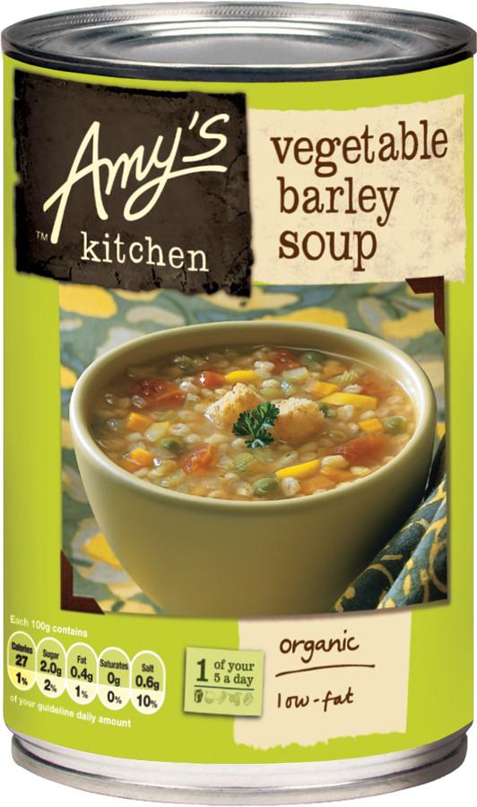 Amy's Kitchen Vegetable Barley Soup - 400g