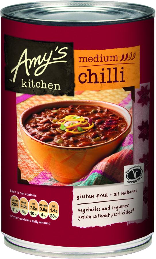 Amys Kitchen Medium Chilli  416g