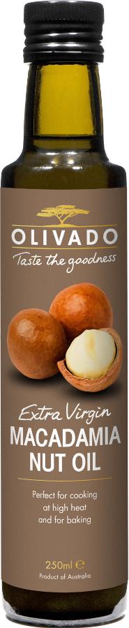 Olivado Macadamia Nut Oil - 250ml.