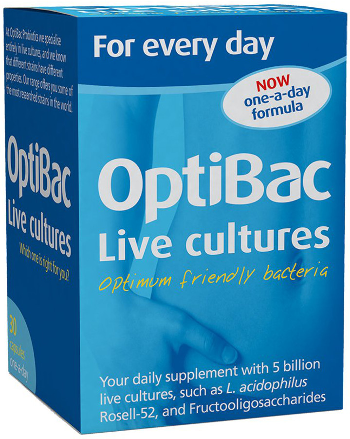 Optibac Probiotics For Every Day - 30 Capsules