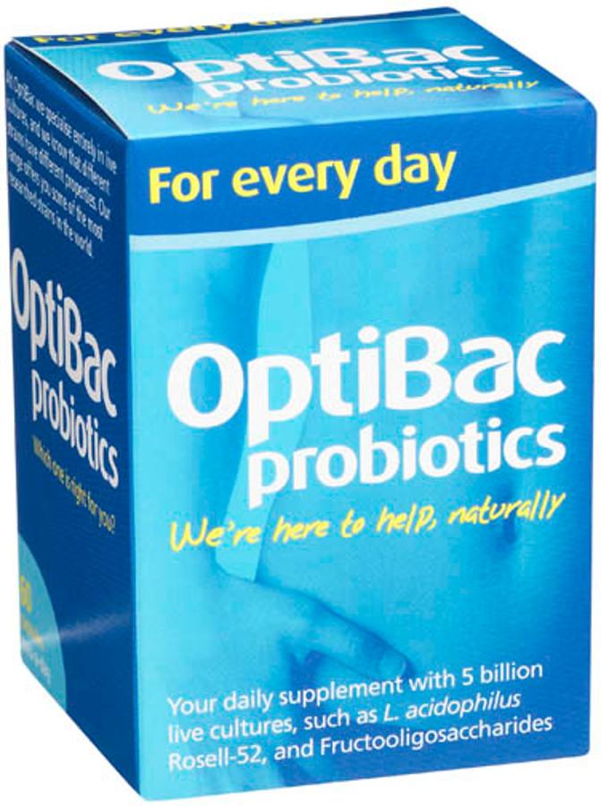 Optibac Probiotics For Every Day - 60 Capsules