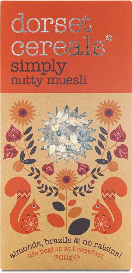 Dorset Cereals Simply Nutty Muesli - 700g.