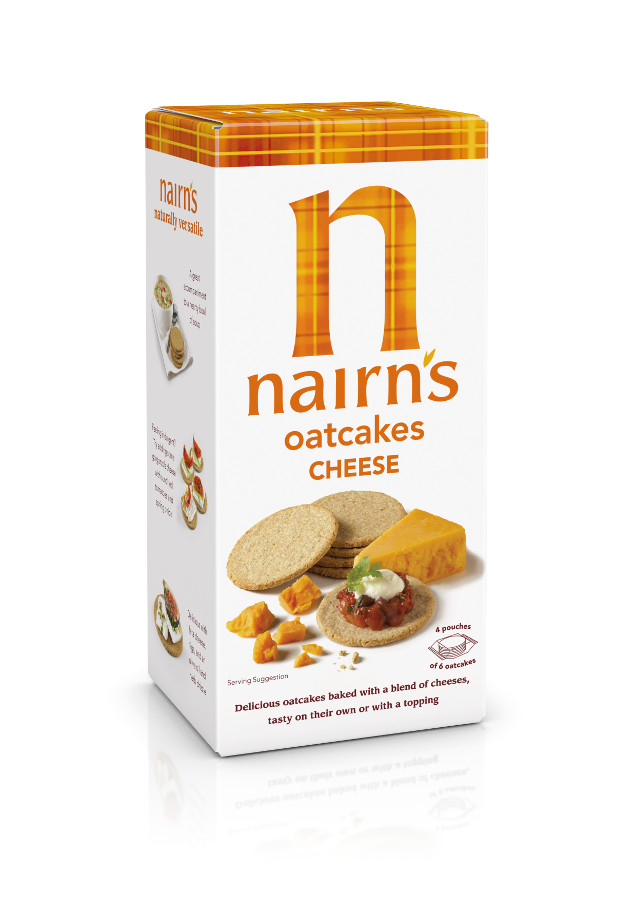 Nairn's Cheese Oatcakes - 200g