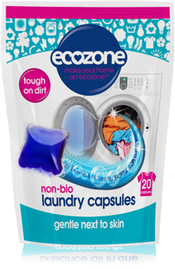 Ecozone Non-Bio Laundry Capsules - Pack of 20