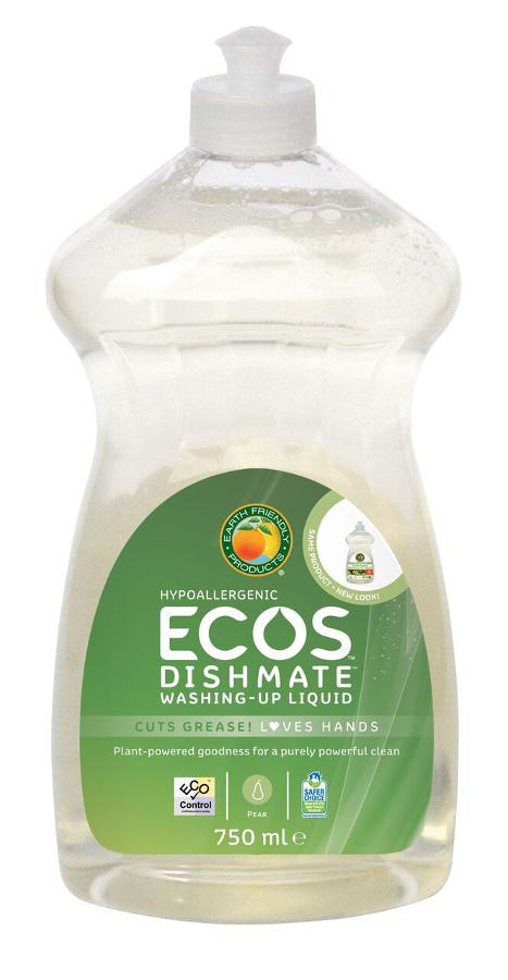 ECOS Dishmate Washing up Liquid - Pear - 750ml