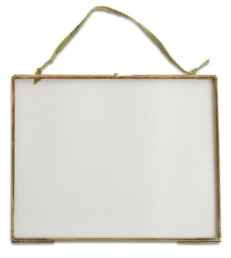 Image of Kiko Glass Brass Frame - 8x10 - Landscape