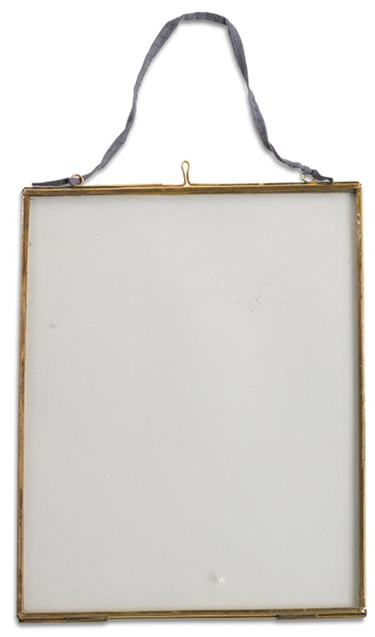 Image of Kiko Glass Brass Frame - 8x10 - Portrait