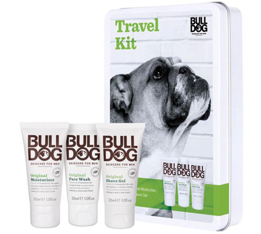 Bulldog Men's One Step at a Time Travel Set