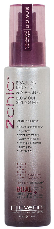 Giovanni Ultra-Sleek Blow Out Styling Mist - 118ml at Natural Collection