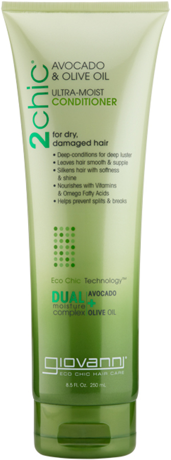 Giovanni Ultra-Moist Conditioner - 250ml at Natural Collection