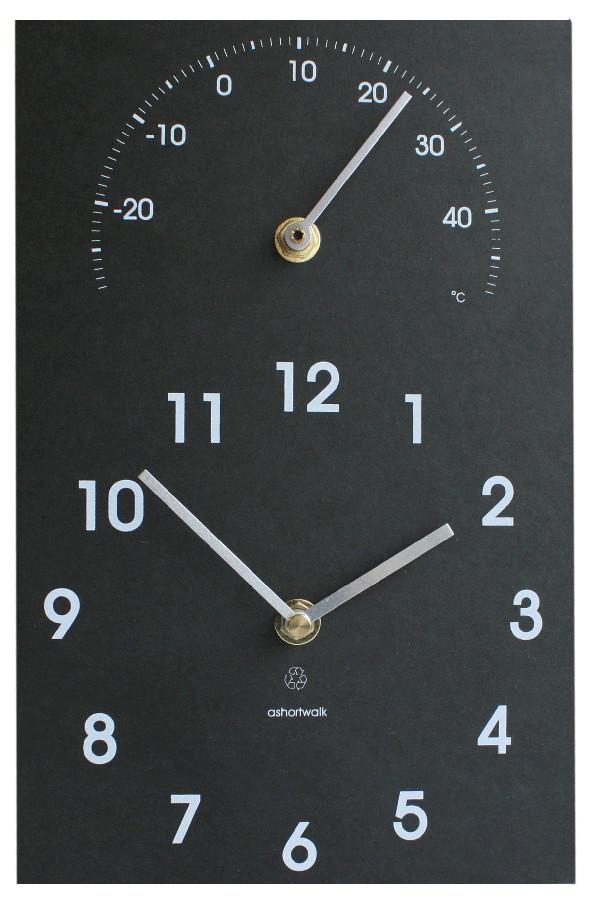 ECO Clock & Thermometer