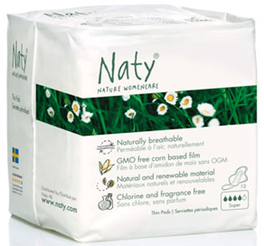 Naty by Nature Womancare Sanitary Towel  Normal Plus  Pack of 13