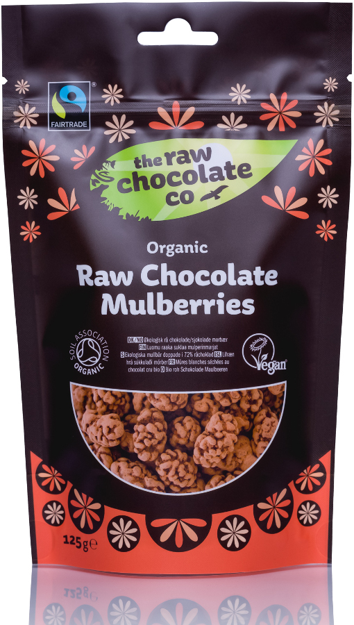 The Raw Chocolate Co Mulberries 125g