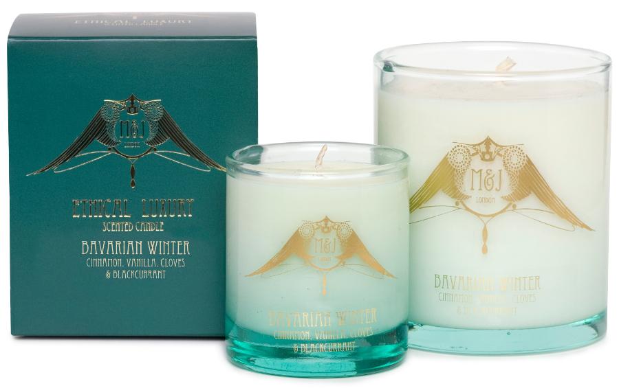 Image of M&J London Soy Candle - Bavarian Winter - Large
